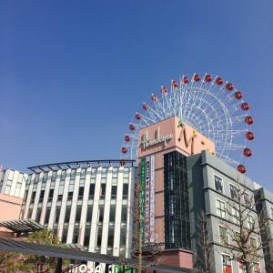 都筑阪急 モザイクモール お勧めは観覧車♡